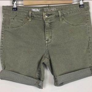 Mossimo Cutoff Jean Shorts - 8